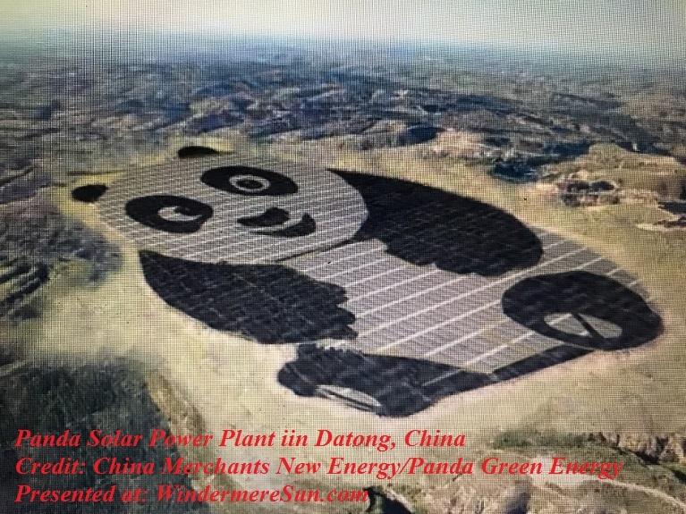 Panda Solar Power Plant at Datong, China credit China Merchants New Energy-Panda Green Energy final