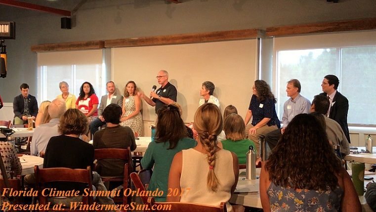Polo shirt guy speaker at FL Climate Summit Orlando 2017 final