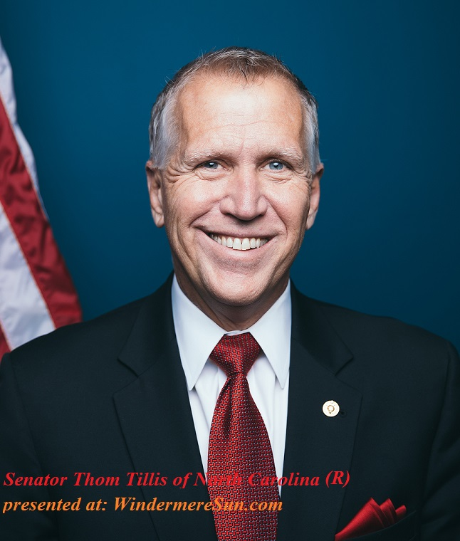 Thom_Tillis_official_photo, Rep senator of North Carolina final