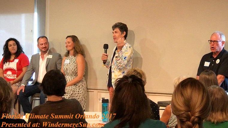 speaker at Florida Climate Summit Orlando 2017 final
