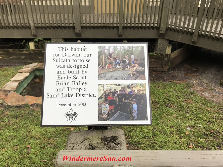 Darwin's Habitat Designed by Eagle Scout Brian Bailey final