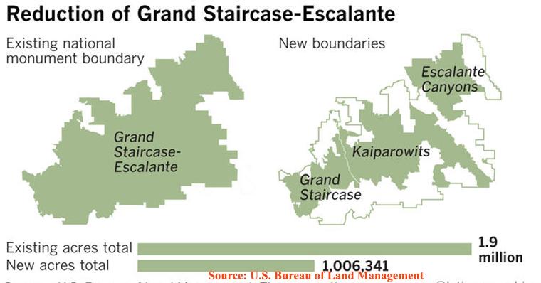 Grand Staircase Escalante map final
