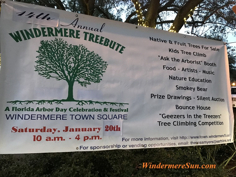 Arbor Day at Windermere sign 2018-a final