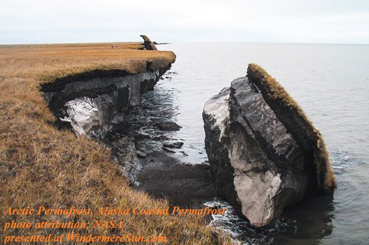 Arctic Permafrost, attrib-NASA,alaska_coastal_permafrost final