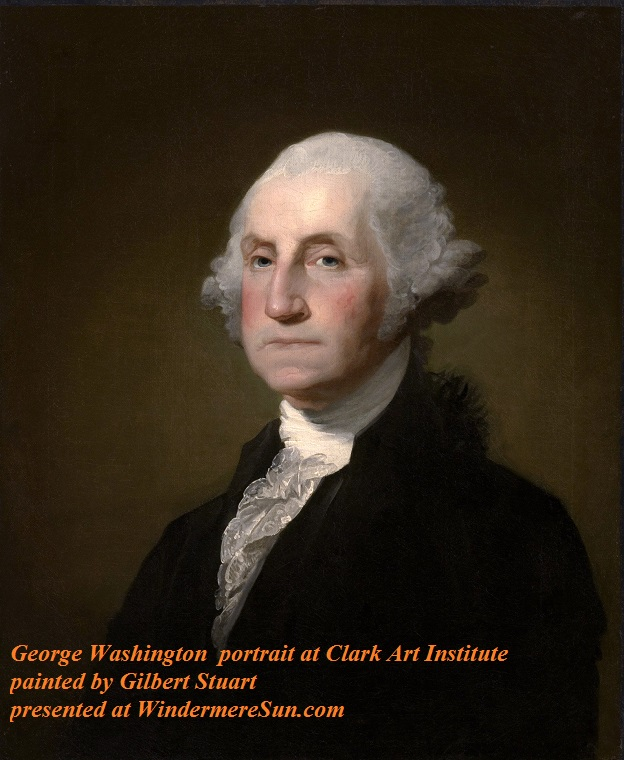 George Washington, painted by Gilbert_Stuart,_Williamstown_Portrait_of_George_Washington, portrait currently at Clark Art Institute, PD final