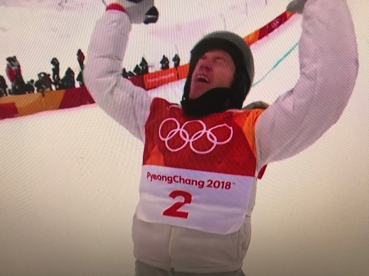 Shaun White completed men's halfpipe 2018-2 final