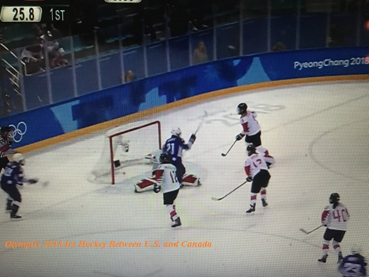 U.S. Olympics women's hockey 2018-2 final