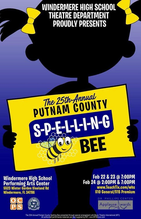 Windermere Theater Company-Putnam County Spelling Bee final