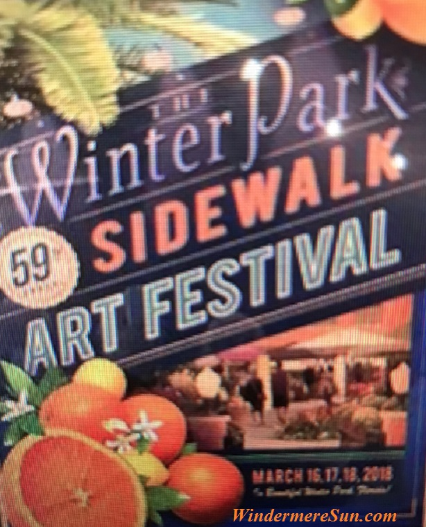 Winter Park Sidewalk Art Festival sign final