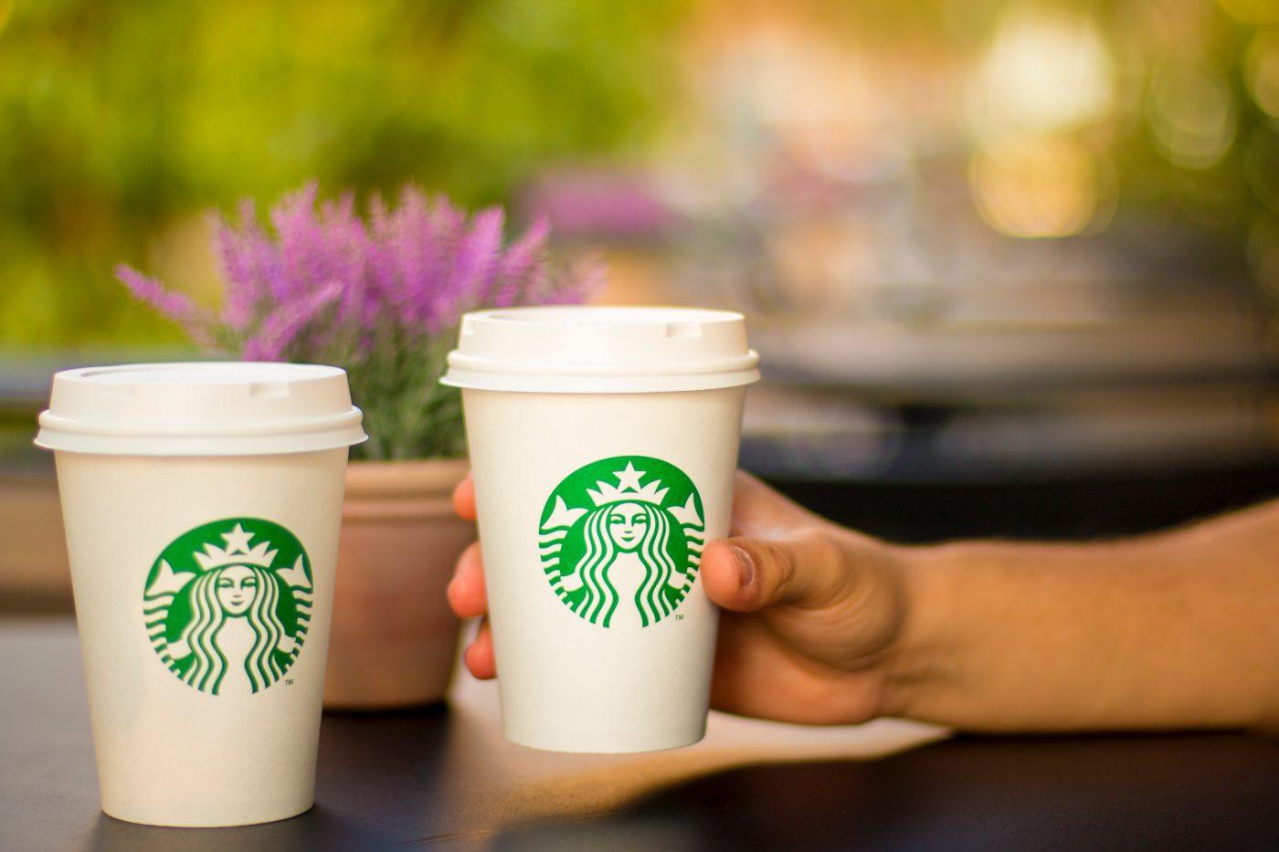 Starbucks, beverage-bokeh-cafe-17741