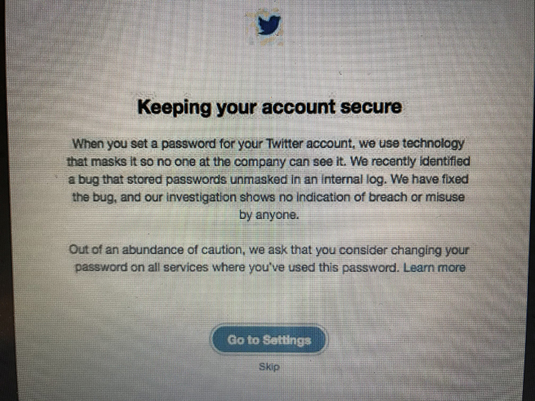 Twitter urges users to change passwords final