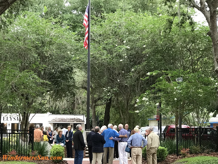 Windermere Veterans and families gather final