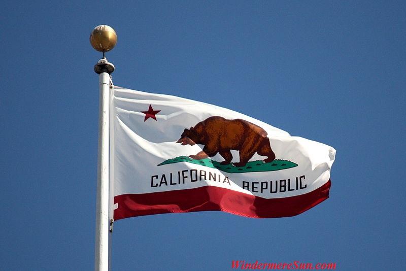Flag-of-California, flying at San Francisco City Hall, CA, PD final