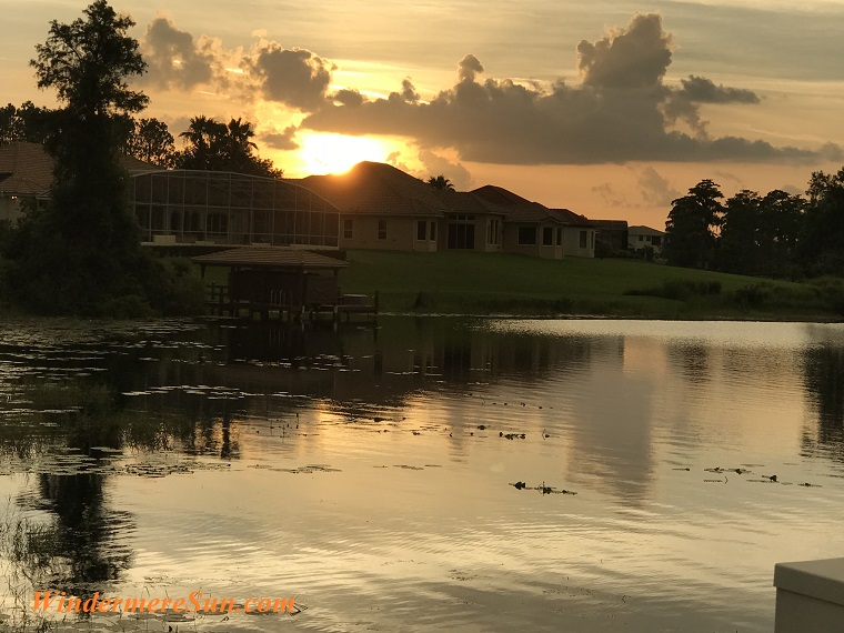 sunset behind house final