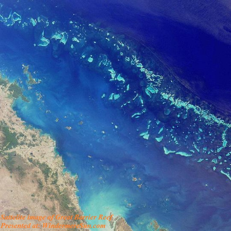 GreatBarrierReef-EO, sattelite image of Great Barrier Reef final