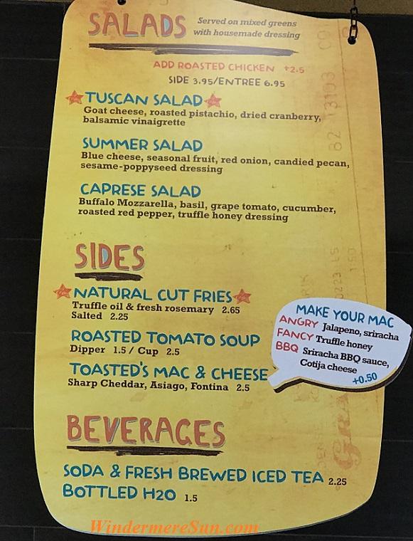 Salads menu final