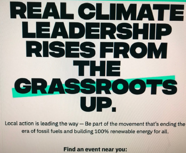 real climate leadership rises from the grassroots final