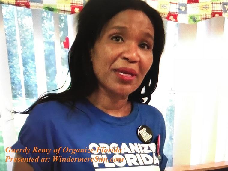 Guerdy Remy of Organize Florida final