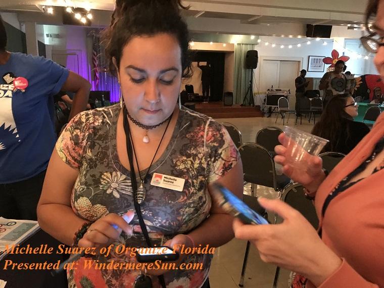 Michelle Suarez of Organize Florida final