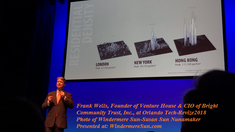 Frank Wells, Founder of Venture House and CIO of Bright Community Trust Inc. at Orlando Tech-Revize2019 final