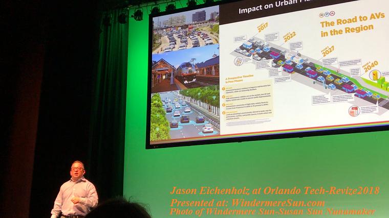 Jason Eichenholz, Cofounder and CTO of Luminar Technologies, at Orlando Tech-Revize2018 final