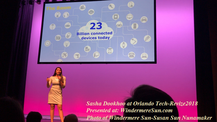 Sasha Dookhoo at Orlando Tech-Revize2018 final