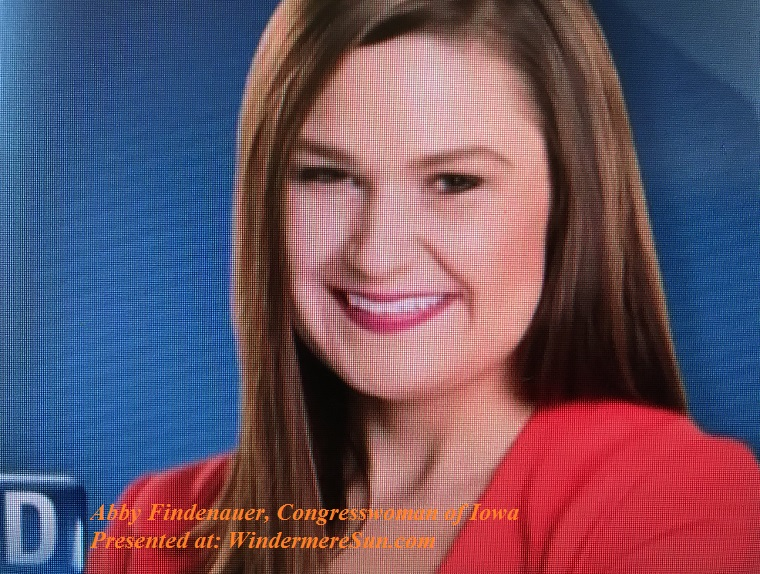 Abby Finkenauer, Congresswoman of Iowa final