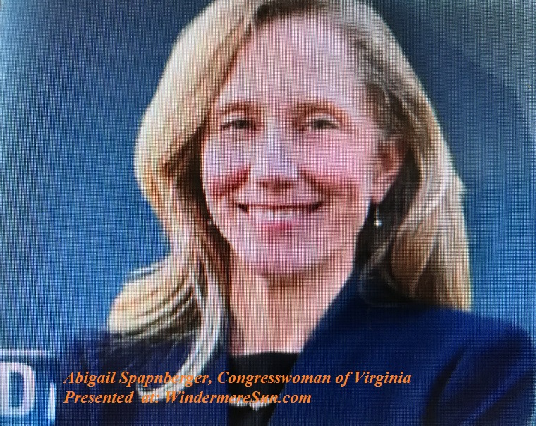 Abigail Spanberger, Congresswoman of Virginia final