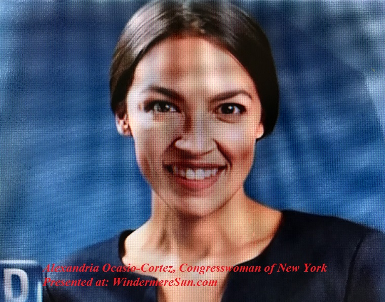 Alexandria Ocasio-Cortez of New York final