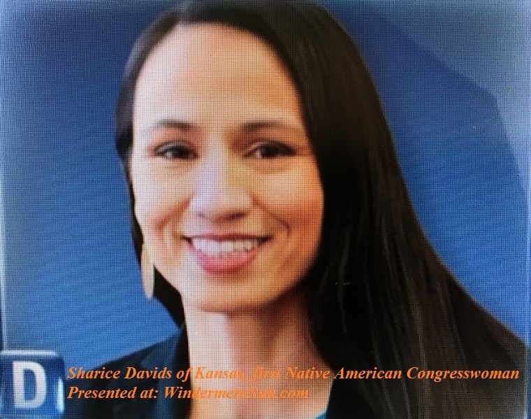Sharice Davids, first Native American Congresswoman final