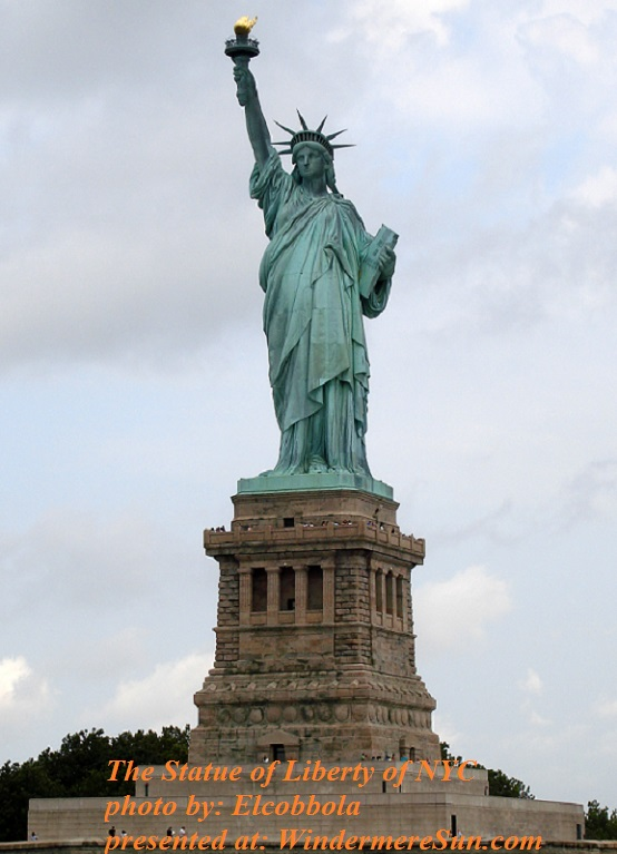Statue_of_Liberty_7 , PD, photo by Elcobbola final