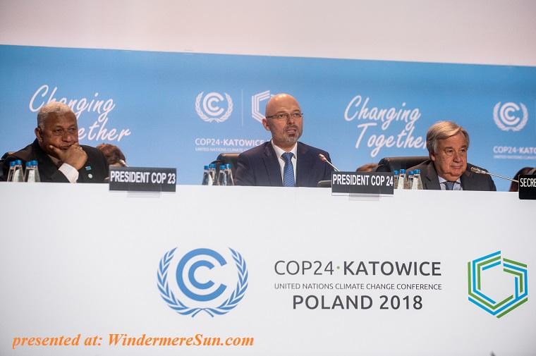 President of COP24 final