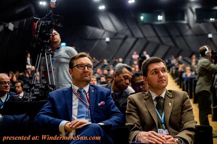 Representatives at COP24 final