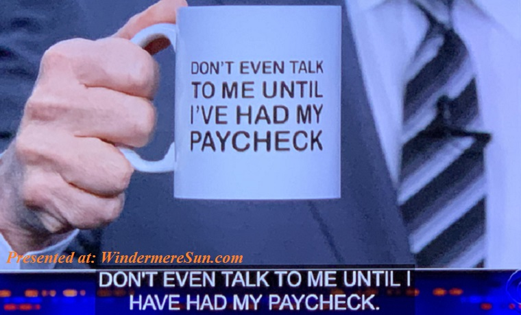 Stephen Colbert selling mugs to help federal employees final