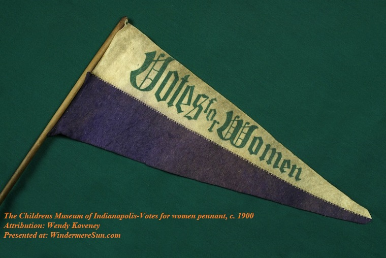 The_Childrens_Museum_of_Indianapolis_-_Votes_for_women_pennant, Attribution-Wendy Kaveney, c. 1900 final
