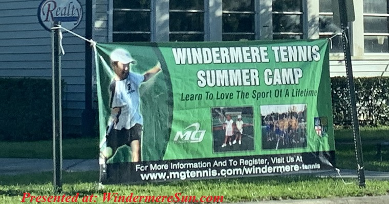 Windermere Tennis Summer Camp 2019 final