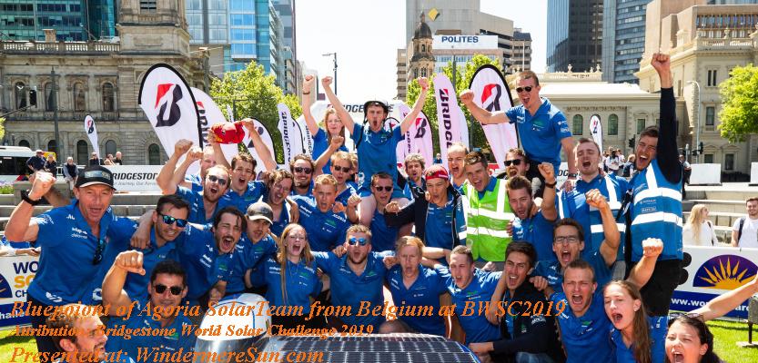 WorldSolarChallenge 2019, Agoria Solar Team of Belgium, 2868_2019bwsc_dkimg0078 final