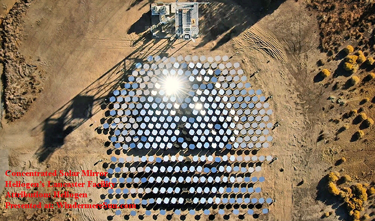 Heliogen Lancaster Facility, concentrated solar, Attribution-Heliogen final