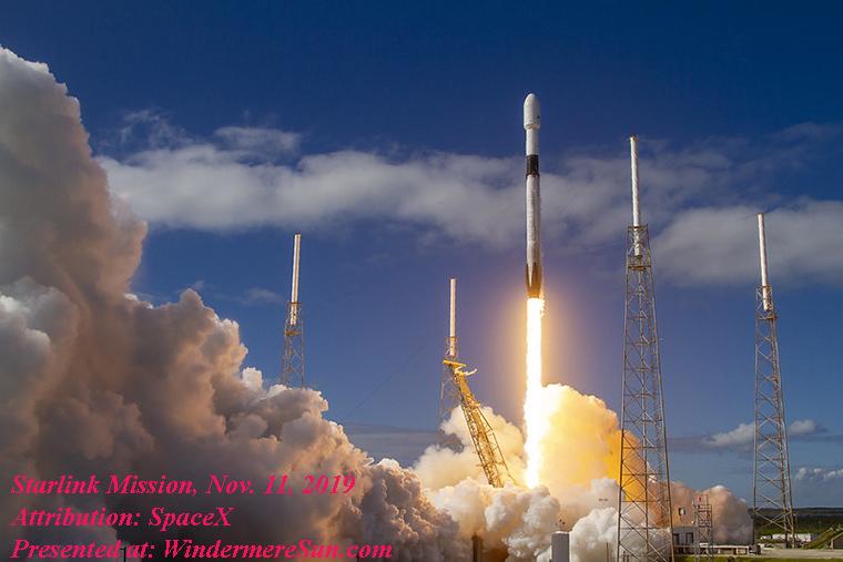 Starlink Mission-0, Attribution SpaceX final