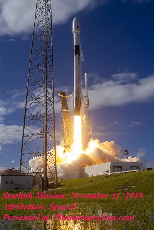Starlink Mission-3, Attribution SpaceX final