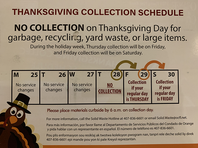 Thanksgiving Garbage Collection, attribution-Orange County Utilites Dept final
