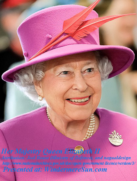 Queen_Elizabeth_II_in_March_2015, Attribution- Joel Rouse (Ministry of Defence), and nagualdesign, Open Government v.3.0