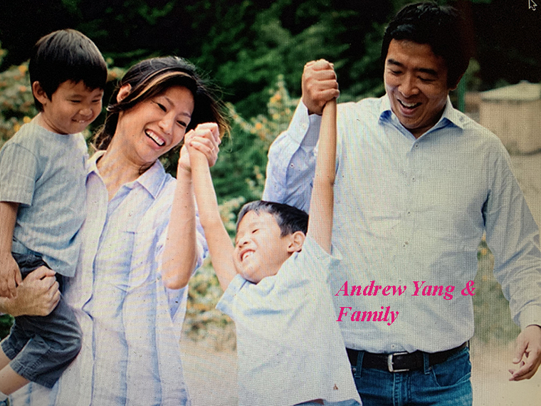 Andrew Yang and family final