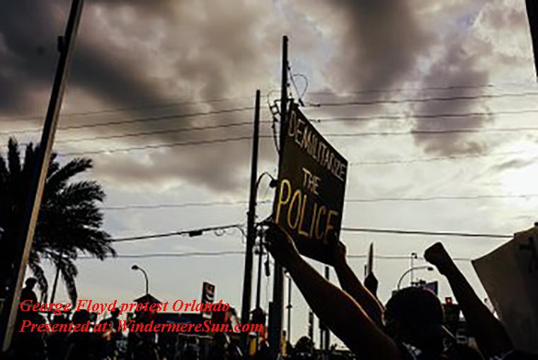 George Floyd protest Orlando-4 final