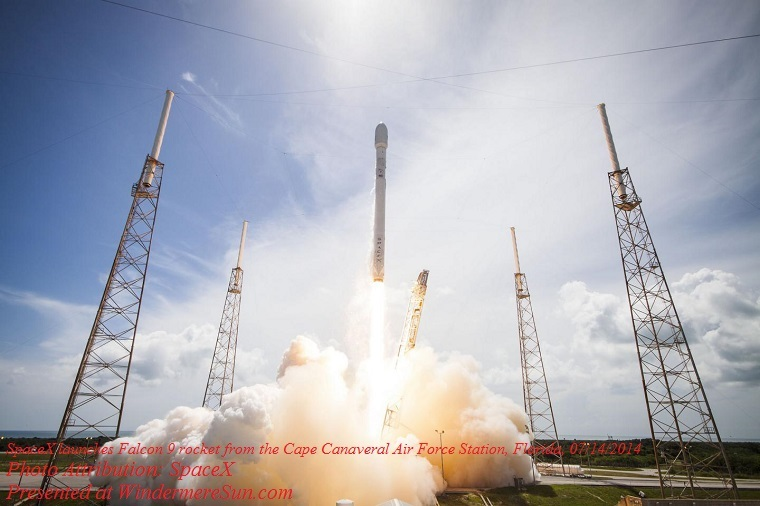 falcon-9, SpaceX launches Falcon 0 rocket from the Cape Canaveral Air Force Station, Florida, on July 14, 2014 final