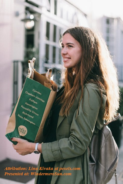 woman with green jacket carrying grocery bag, pexels-photo-1524123 final