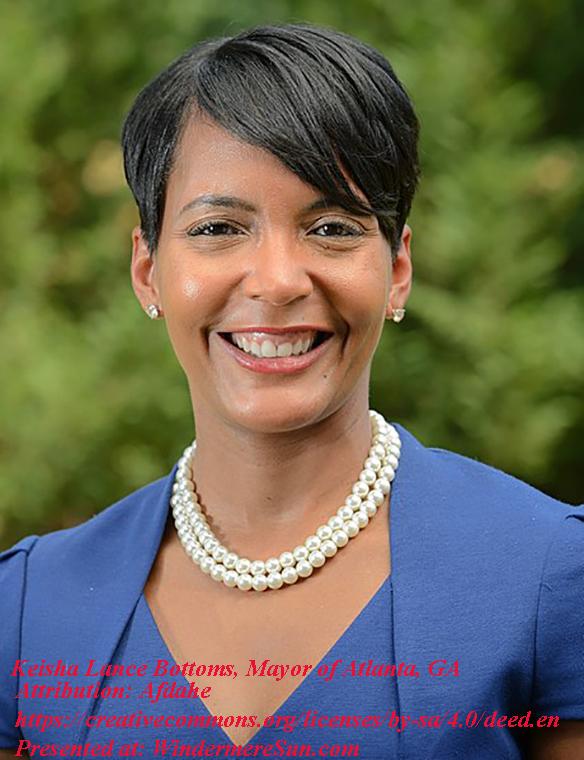 Keisha Lance Bottoms, Mayor of Atlanta, Attribution-Afdahe, CC.4.0.final