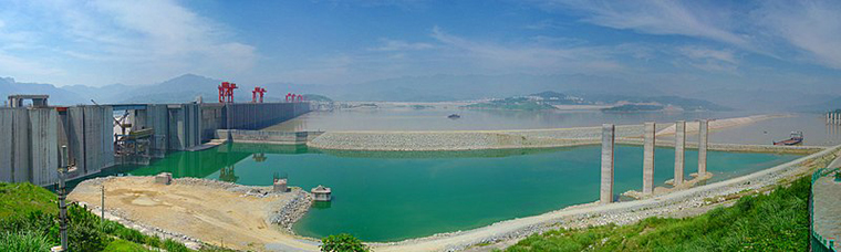 The Three Gorges Dam, sandouping-sanxiadaba-4.med final