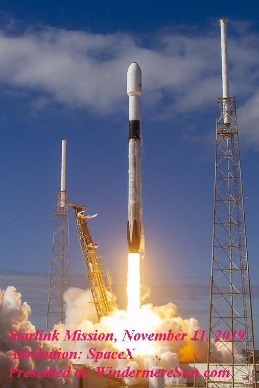Starlink Mission-1, Attribution SpaceX final